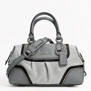 COACH Ashley spectator leather satchel